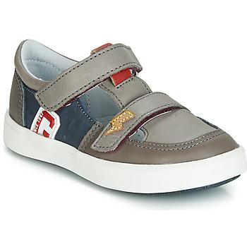 Schoenen Jongens Lage sneakers GBB VARNO Grijs / Marine