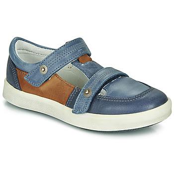Schoenen Jongens Lage sneakers GBB VARNO Blauw