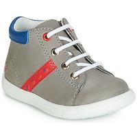 Schoenen Jongens Hoge sneakers GBB FOLLIO Grijs / Blauw
