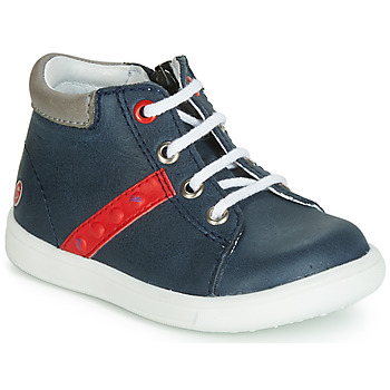 Schoenen Jongens Hoge sneakers GBB FOLLIO Marine / Rood