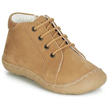 Schoenen Jongens Hoge sneakers GBB FREDDO Cognac