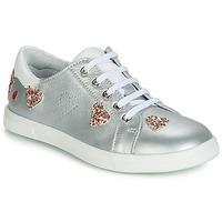 Schoenen Meisjes Lage sneakers GBB ASTOLA Zilver