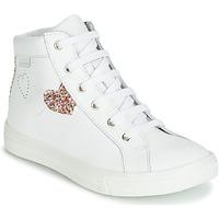 Schoenen Meisjes Hoge sneakers GBB MARTA Wit / Multi