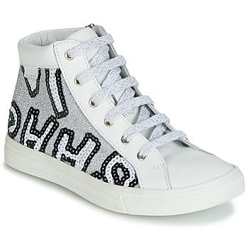 Schoenen Meisjes Hoge sneakers GBB MARTA Wit