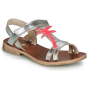 Schoenen Meisjes Sandalen / Open schoenen GBB SAPELA Zilver