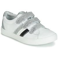 Schoenen Meisjes Lage sneakers GBB MADO Wit / Zilver