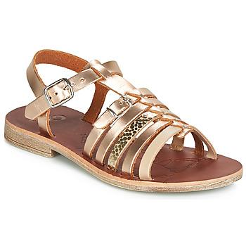 Schoenen Meisjes Sandalen / Open schoenen GBB BANGKOK Goud