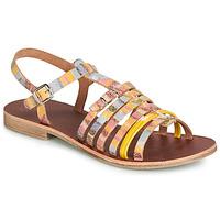 Schoenen Meisjes Sandalen / Open schoenen GBB BANGKOK Multi / Geel