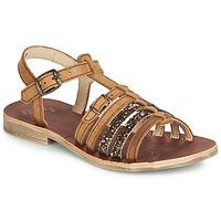 Schoenen Meisjes Sandalen / Open schoenen GBB BANGKOK Cognac