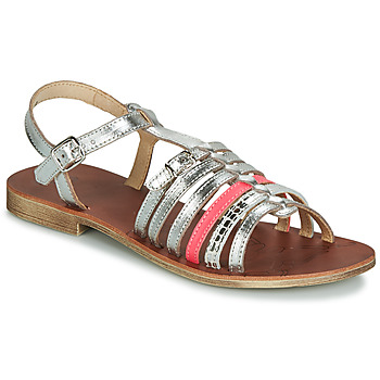Schoenen Meisjes Sandalen / Open schoenen GBB BANGKOK Zilver