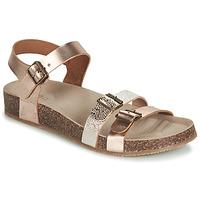 Schoenen Meisjes Sandalen / Open schoenen GBB BIGA Roze / Goud / Goud