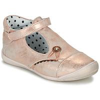 Schoenen Meisjes Ballerina's Catimini SANTA Vte / Roze / Goud / Dpf / Kezia