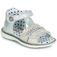 Schoenen Meisjes Sandalen / Open schoenen Catimini BIRA Zilver / Beige