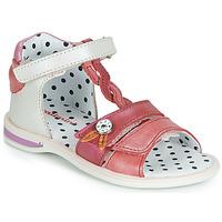 Schoenen Meisjes Sandalen / Open schoenen Catimini GOROKA Wit / Rood