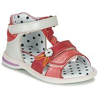 Schoenen Meisjes Sandalen / Open schoenen Catimini GOROKA Wit / Roze