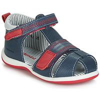 Schoenen Jongens Sandalen / Open schoenen Catimini BALIMO Marine / Rood