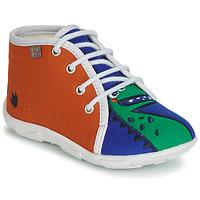 Schoenen Jongens Sloffen GBB MARCCO Oranje / Blauw
