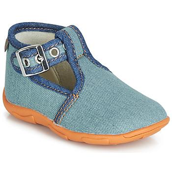 Schoenen Jongens Sloffen GBB SAPPO Blauw / Jeans