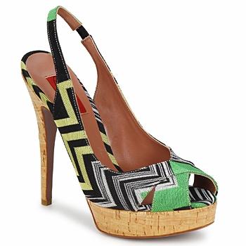 Schoenen Dames Sandalen / Open schoenen Missoni RM71 Groen