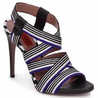 Schoenen Dames Sandalen / Open schoenen Missoni RM19 Blauw / Wit