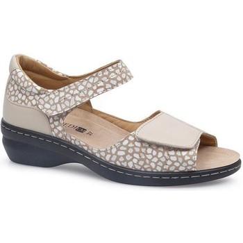 Schoenen Dames Sandalen / Open schoenen Calzamedi FASHIO BEIGE
