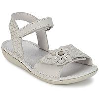 Schoenen Meisjes Sandalen / Open schoenen Kickers EVANA Wit