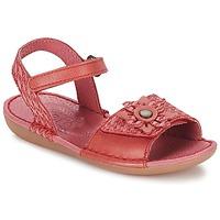 Schoenen Meisjes Sandalen / Open schoenen Kickers EVANA Rood / Koraal