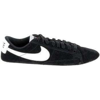 Schoenen Dames Lage sneakers Nike Blazer Low Noir Beige AV9373-001 Zwart