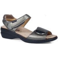 Schoenen Dames Sandalen / Open schoenen Calzamedi S  ELIGIA ZILVER