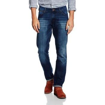 Textiel Heren Skinny jeans Wrangler Larston Blaze W18S8282T navy