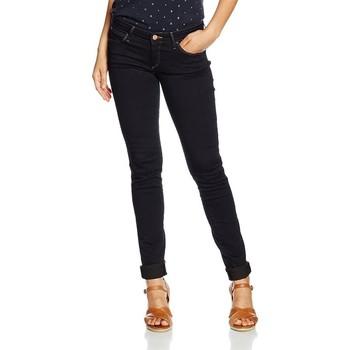 Textiel Dames Skinny Jeans Wrangler Courtney Skinny W23SBV79B navy