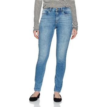 Textiel Dames Skinny Jeans Wrangler ® High Rise Skinny 27HX794O blue