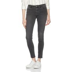 Textiel Dames Skinny Jeans Wrangler Skinny Ash W28KLX86O grey