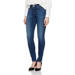 Textiel Dames Skinny Jeans Wrangler ® Skinny Authentic Blue 28KX785U blue