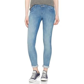 Textiel Heren Skinny Jeans Wrangler Super Skinny W29JPV86B blue