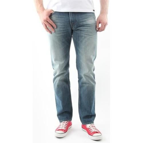 Textiel Heren Straight jeans Lee Blake Worn Green L730DAUJ blue