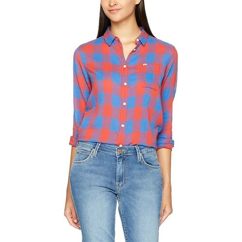 Textiel Dames Overhemden Lee Ultimate Shirt L47ISISG Multicolor