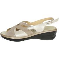 Schoenen Dames Sandalen / Open schoenen Novaflex BORRIANA 001 Beige