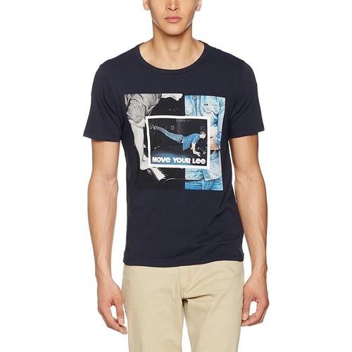 Textiel Heren T-shirts korte mouwen Producent Niezdefiniowany Lee® Photo Tee 60QEPS blue