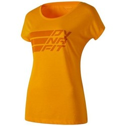 Textiel Dames T-shirts korte mouwen Dynafit Compound Dri-Rel Co W S/s Tee 70685-4630 orange