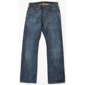 Textiel Heren Straight jeans Lee JOEY 719CRSD blue
