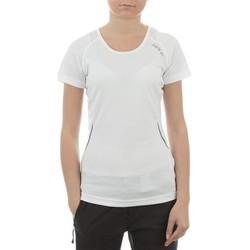 Textiel Dames T-shirts korte mouwen Dare 2b T-shirt  Acquire T DWT080-900 white