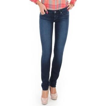 Textiel Dames Skinny Jeans Wrangler Jeansy  Skyline W26FX754R blue