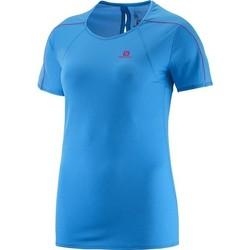 Textiel Dames T-shirts korte mouwen Salomon Minim Evac Tee W 371146 blue