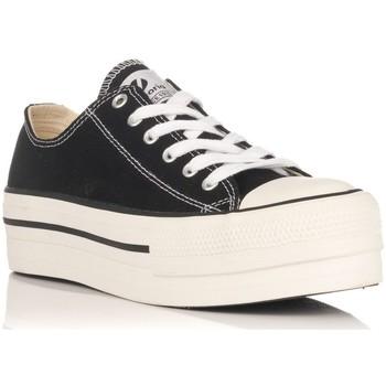 Schoenen Lage sneakers Victoria 61100 Zwart