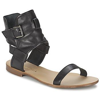 Schoenen Dames Sandalen / Open schoenen Casual Attitude PANTOLA Zwart
