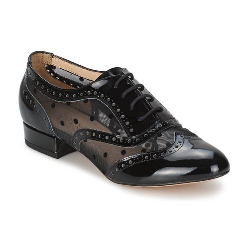 Schoenen Dames Derby Fericelli ABIAJE Zwart