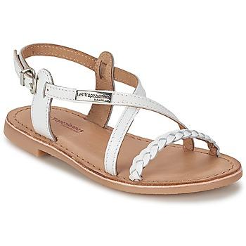 Schoenen Meisjes Sandalen / Open schoenen Les Tropéziennes par M Belarbi BALADIN Wit