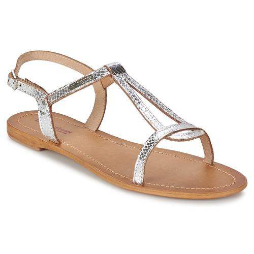 Schoenen Dames Sandalen / Open schoenen Les Tropéziennes par M Belarbi HAMAT Zilver / Slang