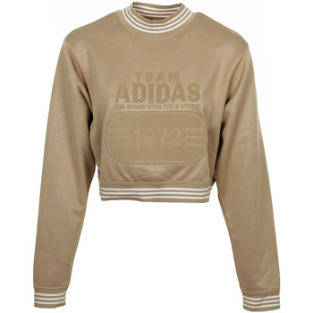 Textiel Dames Sweaters / Sweatshirts adidas Originals Fashion League Sweat Goud